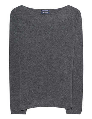 WOOLRICH Cashmere Boatneck Anthracite