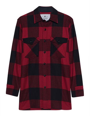 WOOLRICH Karo Shirt Red