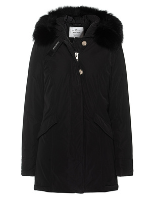 WOOLRICH Luxury Arctic Fox Black