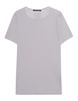 HANNES ROETHER Knit Cotton Sleeves Beton Grey