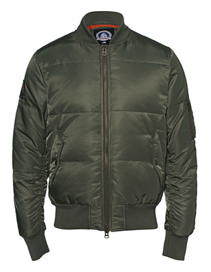 SNOWMASS Bomber Zeno Military Green