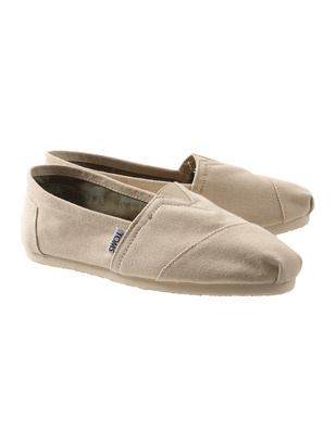 TOMS Canvas Light Beige