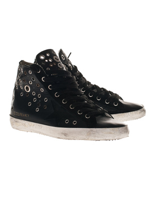 GOLDEN GOOSE Francy Custom Black
