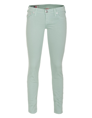 TRUE RELIGION Misty Super Skinny Old Mint