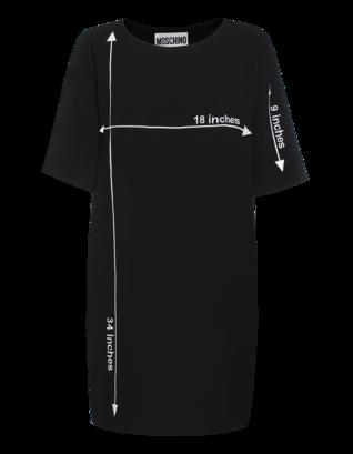 MOSCHINO Sewing Pattern Black