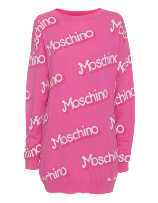 MOSCHINO Barbie Knit Long Pink