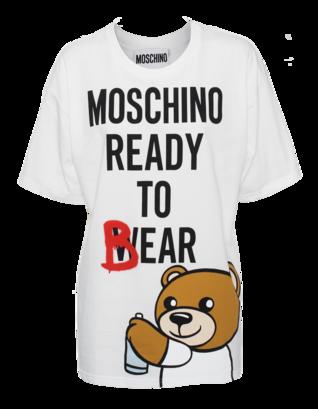 MOSCHINO Ready to Bear White