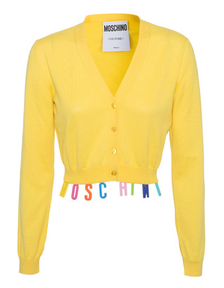 MOSCHINO Colourful Crop Yellow