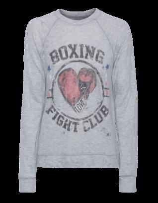 LAUREN MOSHI Bardot Boxing Grey