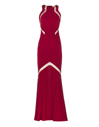 GALVAN LONDON Feminine Cut Out Raspberry