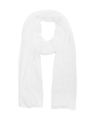YOUNG COUTURE BY BARBARA SCHWARZER Fiesta Wrap White