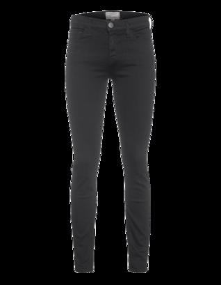 CURRENT/ELLIOTT The Ankle Skinny Jet Black