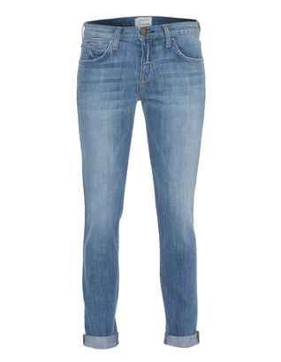 CURRENT/ELLIOTT The Rolled Skinny Tulsa Blue