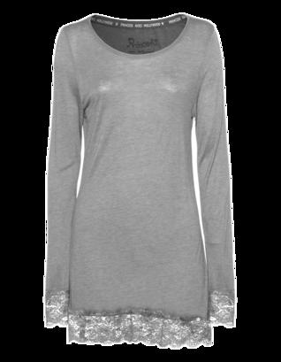 PRINCESS GOES HOLLYWOOD Floral Lace Slim Light Grey