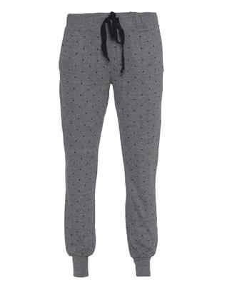 CURRENT/ELLIOTT The Vintage Sweatpant Grey Mini Polka Stars