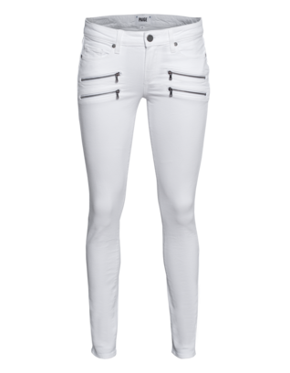 PAIGE Edgemont Ultra Skinny Optic White