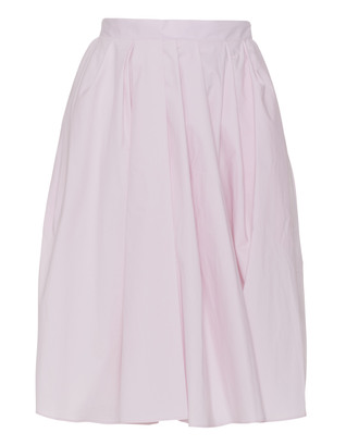 CARVEN Flared Pleats Rose