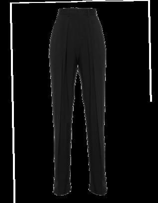 MSGM Wide Pleat Black