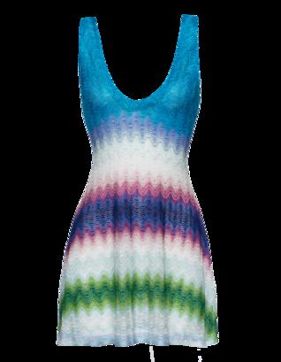 MISSONI Crochet Fancy Blue Multi