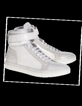 YLATI FOOTWEAR Amalfi High White