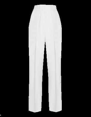 MSGM High Pleat White