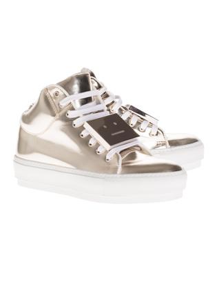 ACNE STUDIOS Cleo Metallic Light Gold