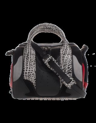 ALEXANDER WANG Rockie Sneaker Black Laqueur