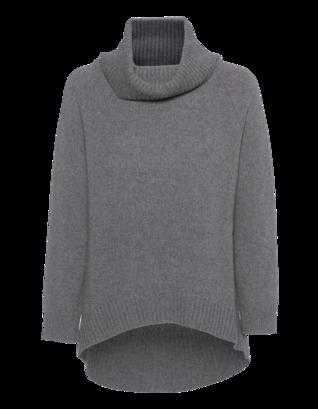 BARBARA SCHWARZER Cashmere Turtle Grey