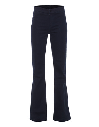 J BRAND 2387 Tailored High-Rise Flare Inkwell Blue