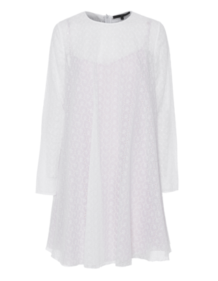 SLY 010 Lace Flare White