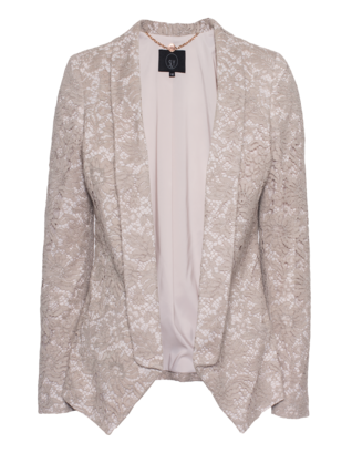 SLY 010 Handkerchief Floral Lace Beige