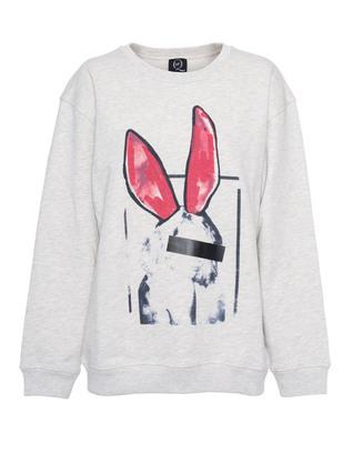 McQ by Alexander McQueen Bunny Censored Boyfriend Grey