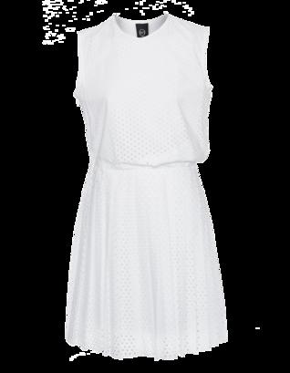 McQ by Alexander McQueen Stapler Pleat Drape White