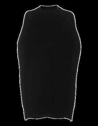 McQ by Alexander McQueen Cape Knit Black