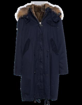 IQ BERLIN Army Fur Dark Blue