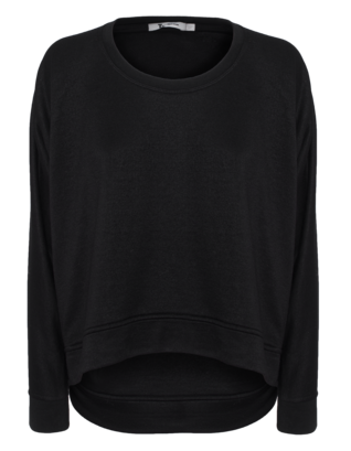 T BY ALEXANDER WANG Soft Terry Black
