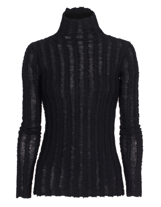 T BY ALEXANDER WANG Special Knit Stripe Black