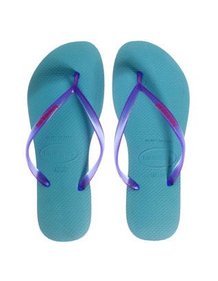 HAVAIANAS Slim Turquoise Purple