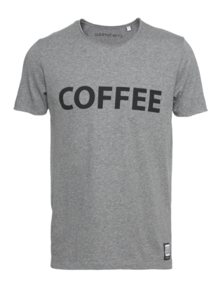 ADDMYBERRY Coffee Heather Grey