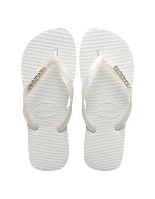 HAVAIANAS Brasil Silver White