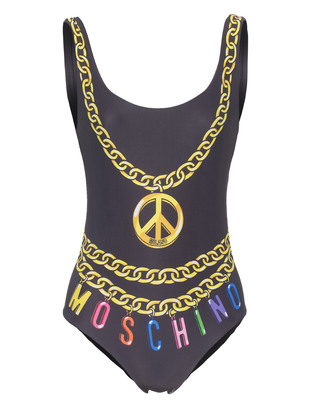 MOSCHINO Peace Mare Black