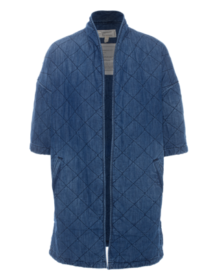CURRENT/ELLIOTT The Quilted Car Palmer Blue