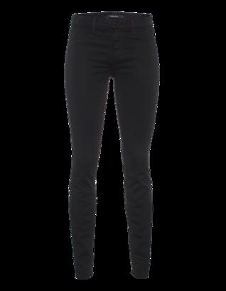 J BRAND 485 Super Skinny Luxe Sateen Black
