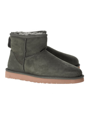 UGG Classic Mini Leather Forest