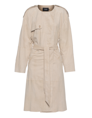 STAND BLACK NUDE Carve Trench Beige