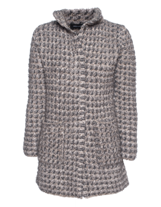 ANNECLAIRE Straight Wool Grey