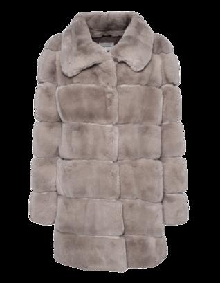 YVES SALOMON Exclusive Soft Leather Grey