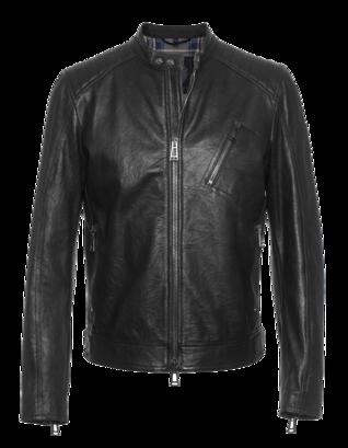 BELSTAFF Racer Leather Black