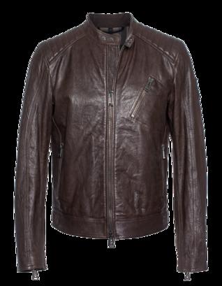 BELSTAFF Racer Leather Brown