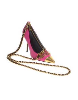 MOSCHINO Pumps Gold Pink